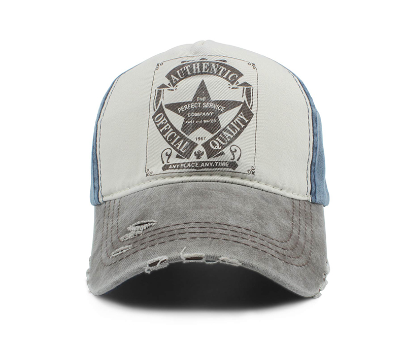 60438b461 Custom 5 Panel Denim Baseball Cap